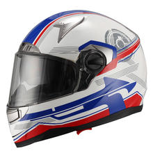high quality double visor motorcycle helmet specialized full face helmet JX-FF001