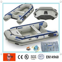 China Unique Design 0.9mm PVC Tarpaulin Inflatable Drift Boat for Water Activities