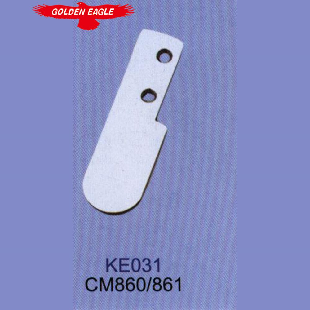 Genuine strong letter flying 860 moving edge machine dark sewing machine knife / cutter KE031
