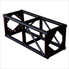Factory Price Aluminum Truss System Matte Black Lighting Truss Spigot Stage Truss