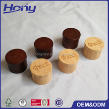 Most Popular Wholesale Price Mini Bamboo Wood Ring Jewelry Packaging Gift Box with Custom Magnetic Lid and Laser Engrave Logo