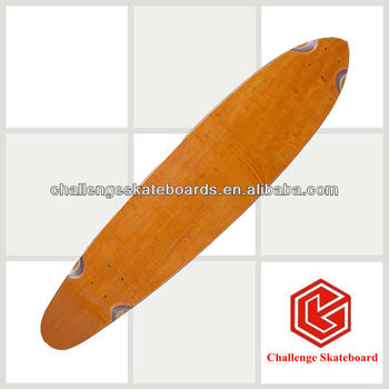 7 ply Canadian maple blank longboard deck