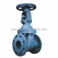 Drawing Of Cast Iron Bronze Trim Gate Valve