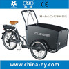 fashion electric cargo bike for carrying children to go school