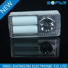 2tube +1led 3.5w high power led Emergency strong light lamp