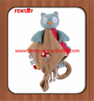 Lovely cat handmade crochet knit baby blanket from fentoy for kids