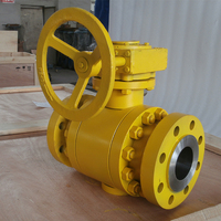 Wholesale Double Flange Forged Steel Trunnion Mounted Ball Valve