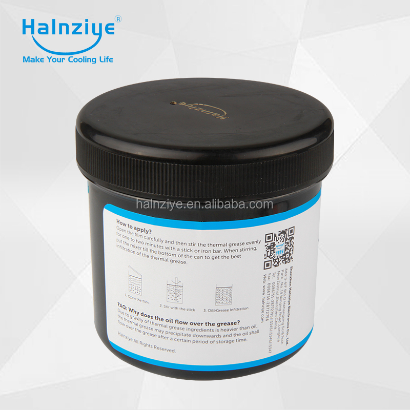 HY810 Silisone Grey Thermal Paste/Grease with High conductivity Performance Applying in Laptop or Notebook CPU cooler