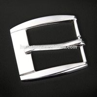 Western fashionable style 29CM zinc alloy roll pin belt buckle