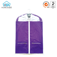 Extensions Dustproof Vinyl garments bag lightweight suit bag