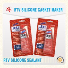High temperature resistance rtv red silicone gasket maker, Silicone gasket maker, RTV silicone sealant for auto engine