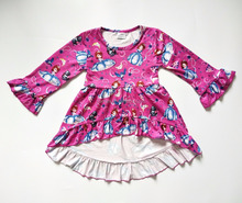 Popular wholesale children clothes baby frock designs fall stylish beautiful princess dress