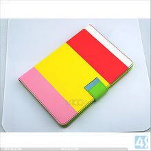 smart cover for ipad case Mix-Color PU Leather Case Cover Stand P-iPDMINICASE116