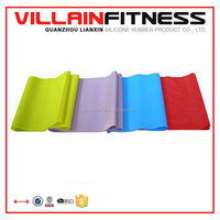 2015 New arrival natural latex fitness resistance bands set,power exercise pull up yoga body slim strong women men soft expand