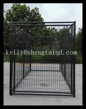 American metal outdoor dog kennel / outdoor big dog cage / cheap chain link dog kennels
