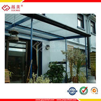 uv coated polycarbonate roof and specifications