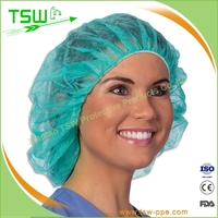China Factory Strip Paper Surgical Cap Wholesale
