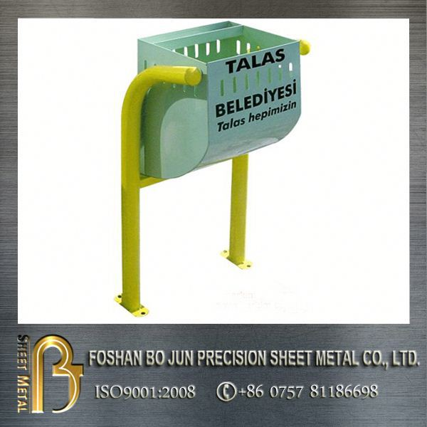 Custom OEM high quality metal types of waste bin