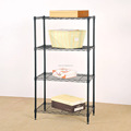 ECO-friendly houseware wire shelving Black wire shelving Easy to assemble and dismantle wire shelving