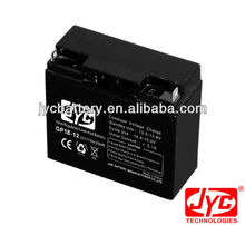dry gel battery 12V inverter battery 17AH