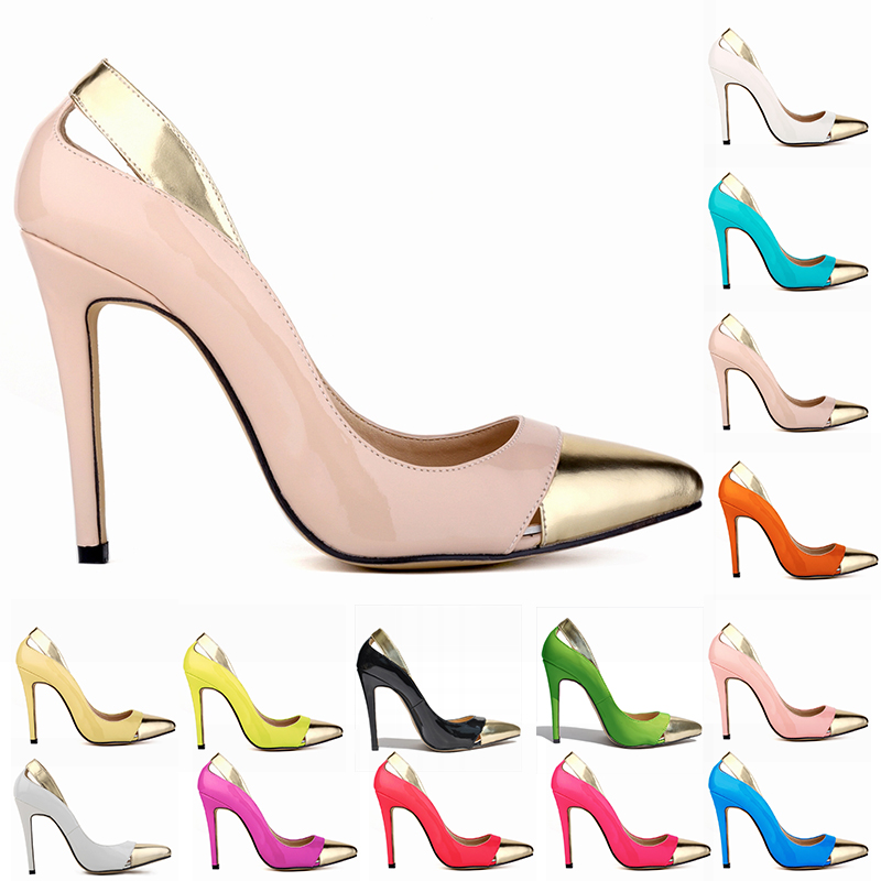 2016 new products female party wear high heel shoes/lady footwear