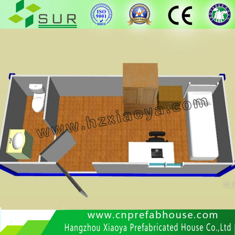 CE expandable living container house