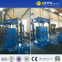Good quality Y82 vertical hydraulic scrap baler machine for used clothing