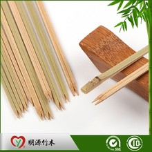 Flexible thin bamboo grilled chicken skewers sticks