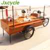 Steet dining car coffee bike restaurant car vending tricycle