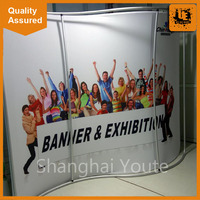 Promotion portable pop up display stands pop up display picture