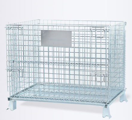 Storage Save Space Equipment Metal Galvanized Steel Cage Self Storage Container