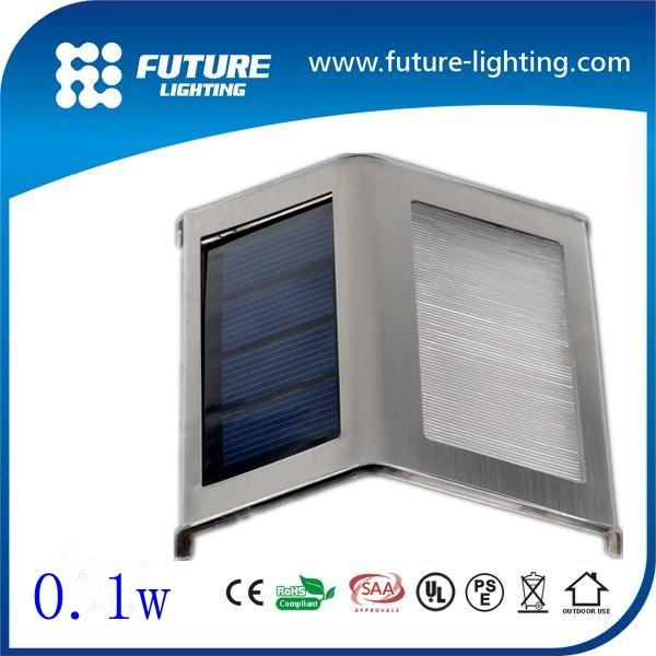 Manufacture led outside IP65 waterproof wall light 0.1W led stair wall light aluminum die casting led wall lamp