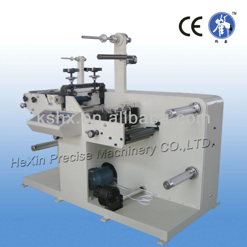 HX-320C Lable slitting & rotary die cutting machine