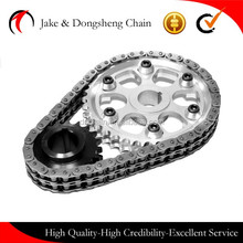 chain manufacturer high quality dive transmission system engine timing chain 06B-2-58L/06BF-50L small pitch 3/8""