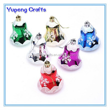 Decorative Hanging Christmas Plastic Bell Decoration