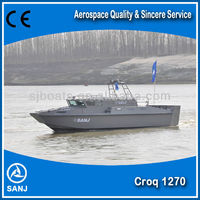 SANJ offical aluminum high speed patrol boat
