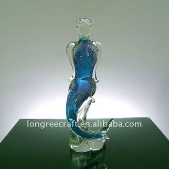 High Quality True Hand Blown Glass Art Sea-maiden-LRT116