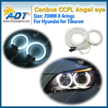 71mm diameter CCFL halo rings compatible with Hyundai Tiburon96-98