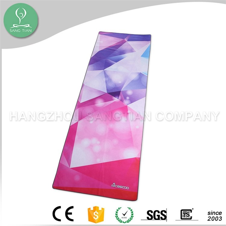 Fashionable and high quality microfiber non slip yoga towel