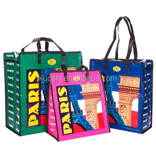 best selling shopping non woven bag with zipper
