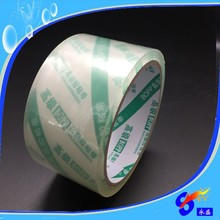 Clear BOPP tape factory tamper proof packing tape
