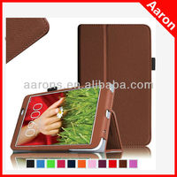 for LG G PAD 8.3 case Folio case premium leather cover for LG G PAD