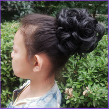 BSD new product best quality popular hair extension factory price afro hair bun