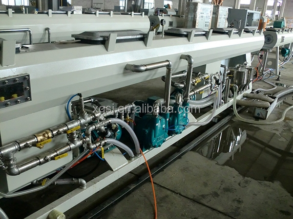 Plastic UHMW PE HDPE Pipe Extrusion Machine, Extruding Machinery Line