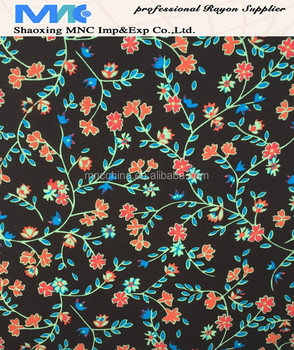 MR16003BP Best selling rayon dress fabric,100% printed rayon fabric,spun rayon
