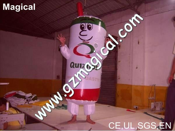 inflatable promotional moving cartoon