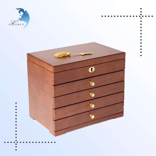 High Quality Custom Luxury Jewelry Box Wooden Box Jewelry