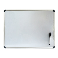 2016 best selling magnetic dry erase white board standard size