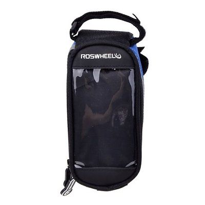 Bike Bicycle Cycling Frame Pannier Front Tube Bag For Cell Phone Waterproof