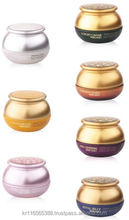 Bergamo cream Whitening, Caviar, Snail, Q10,Snake, Royal Jelly, Red Ginseng cream series 50g , made in KOREA